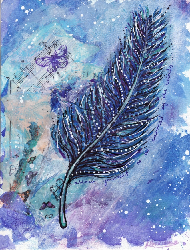 affirmation feather